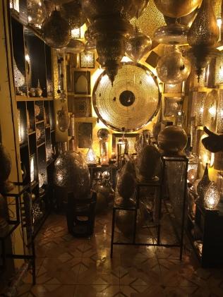 lampes, souk de Marrakech