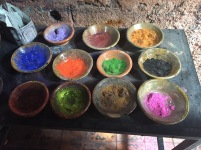 Pigments, souk de Marrakech