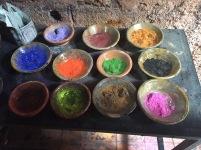 Pigments, souk de Marrakech